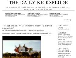 The Daily Kicksplode