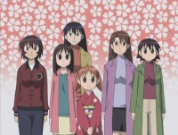 Pic from Azumanga Daioh, Vol. 6: Graduation