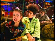 Paul Zaloom, Alanna Ubach, and Mark Ritts in Beakman's World