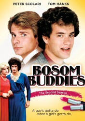 Bosom Buddies Season 2 DVD cover art