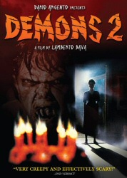 Demons 2 DVD cover art