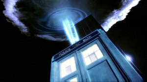 The Tardis from Doctor Who Series 1 (2005)