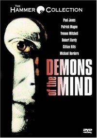 DVD cover art for Demons of the Mind