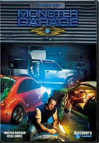 Monster Garage (2002) DVD Cover art