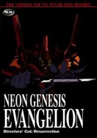 DVD cover art for Neon Genesis Evangelion: Resurrection, Director's Cut