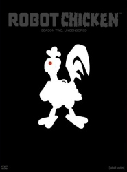Robot Chicken Season 2 DVD cover art