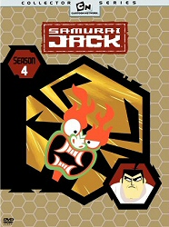 Samurai Jack Season 4 DVD cover art