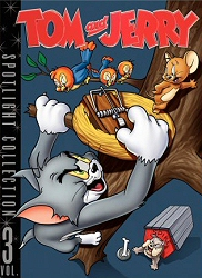 Tom and Jerry Spotlight Collection, Vol. 3 DVD cover art