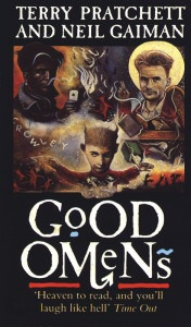 Good Omens book cover art