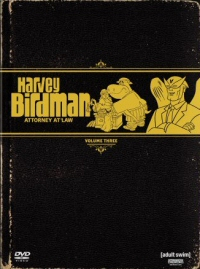 Harvey Birdman Attorney at Law Volume 3, DVD cover art