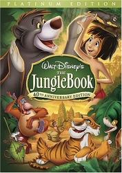 Jungle Book Platinum Edition DVD cover art