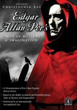 DVD cover art for Edgar Allan Poe's Tales of Mystery and Imagination
