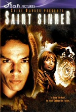 DVD cover art for Clive Barker's Saint Sinner