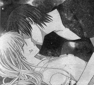 Kyo and Tohru from Fruits Basket