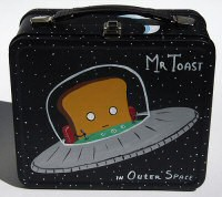 Mr. Toast in Outer Space lunchbox
