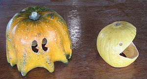 Pac-Man from gourds