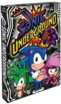 Sonic Underground Vol. 1 DVD cover art