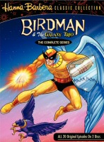 Birdman and the Galaxy Trio Complete Series DVD cover art