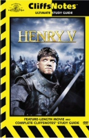 Henry V Cliffs Notes DVD cover art