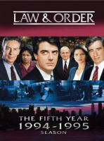 Law & Order: The Fifth Year DVD cover art