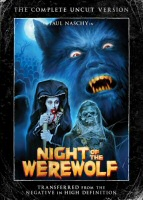 DVD cover art for Night of the Werewolf