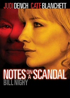 DVD cover art for Notes on a Scandal