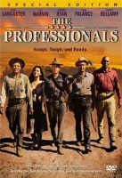 DVD cover art for The Professionals