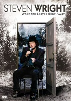 DVD cover art for Steven Wright: When the Leaves Blow Away
