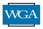 WGA logo