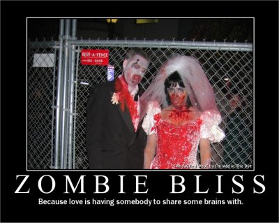 funny zombie. Zombie couple pic from I#39;m Mad